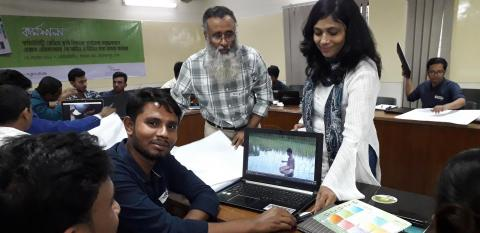 Access Agriculture Bangla radio workshop